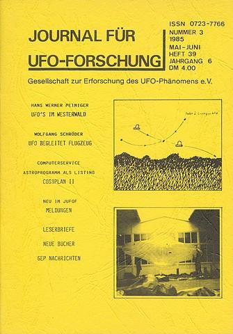 JUFOF Nr. 39 (03/1985) - VERGRIFFEN!