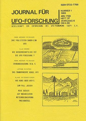 JUFOF Nr. 37 (01/1985) - VERGRIFFEN!