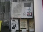 Schaufenster des früheren Büros in Lüdenscheid