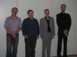 Der GEP-Vorstand im Jahre 2007