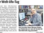 """""""Ich bin nicht wie Fox Mulder aus Akte X"""" (Zeitungsartikel """"Die Rheinpfalz"""" Nr. 151, 3.07.2014)"""