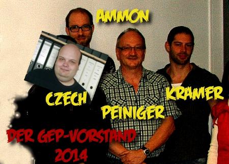 GEP-Vorstand 2014