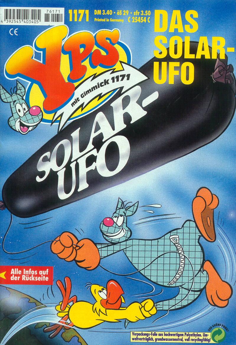 UFO-Alarm aus dem YPS-Heft