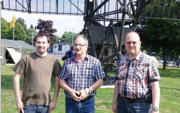 Von Links: Marius Kettmann, Hans-Werner Peiniger und Wolfgang Stelzig